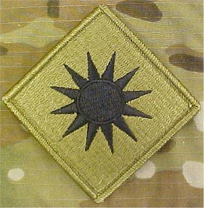 40th Infantry Division MultiCam  OCP Patch