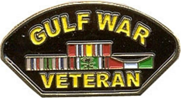Gulf War Veteran Ribbons Small Hat Pin