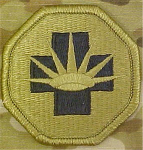 8th Medical Brigade MultiCam  OCP Patch