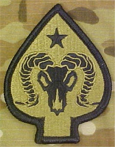 17th Sustainment Brigade Multicam  OCP Patch
