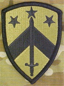 230th Sustainment Brigade MultiCam  OCP Patch