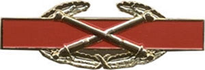 Combat Artillery Badge Large Pin