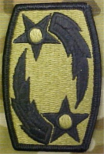 69th Air Defense Artillery Brigade MultiCam  OCP Patch