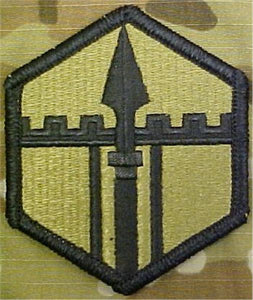 301st Maneuver Enhancement Brigade MultiCam  OCP Patch