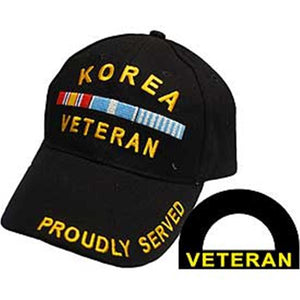 Korean War Veteran Ball Cap