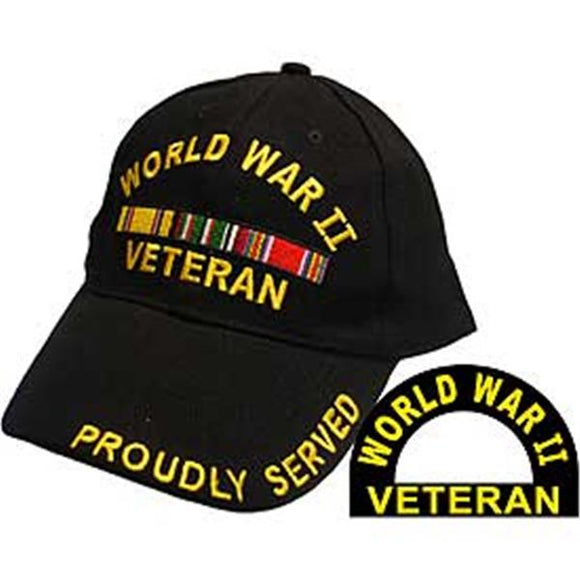 World War 2 Veteran Ball Cap