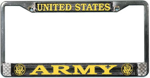 U.S. Army License Plate Frame