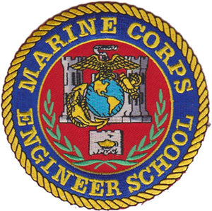 Marine Corps Engineer School USMC Patch