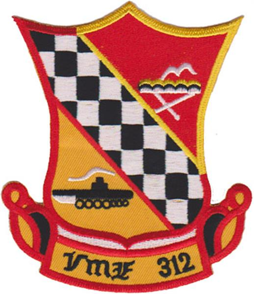 Marine Fighter Squadron 312 USMC Patch