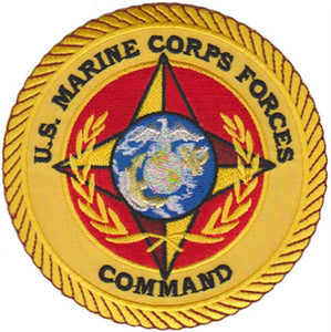 Marine Forces Command Atlantic USMC Patch