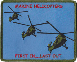 UH-34 Marine Helicopters USMC Patch