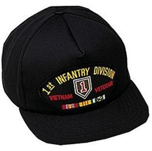 1st Infantry Division Vietnam Veteran Low Profile Ball Cap