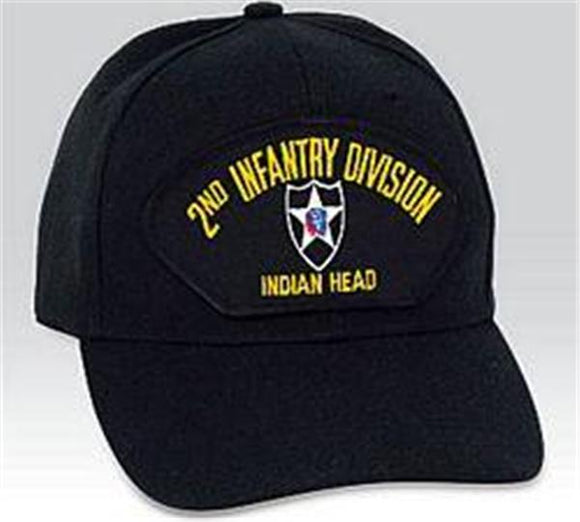 2nd Infantry Division -Indian Head- Low Profile Ball Cap