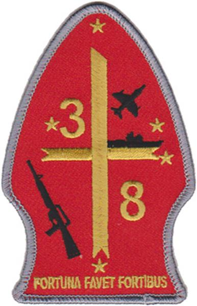 3rd Battalion 8th Marines USMC Patch