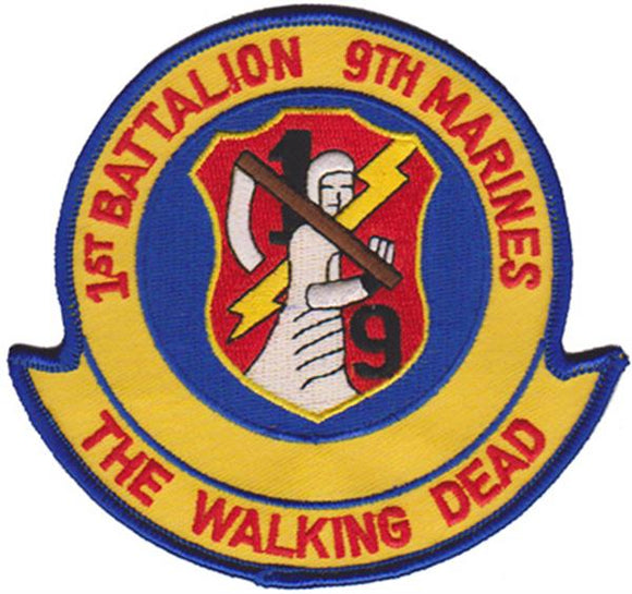 1st Battalion 9th Marines USMC Patch