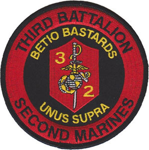 3rd Battalion 2nd Marines USMC Patch