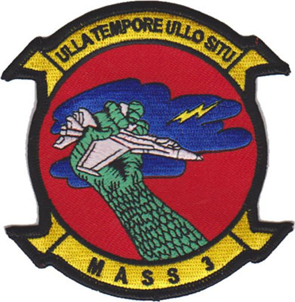 Marine Air Support Squadron 3 USMC Patch
