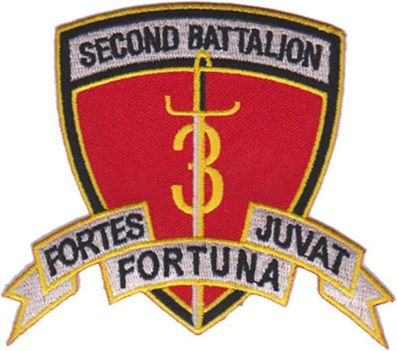 2nd Battalion 3rd Marines USMC Patch