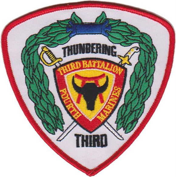 3rd Battalion 4th Marines USMC Patch