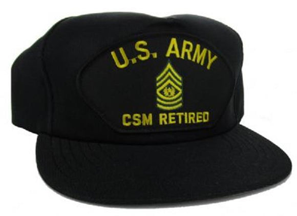 U.S. Army CSM Retired Ball Cap