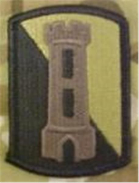 168th Engineer Brigade MultiCam  OCP Patch
