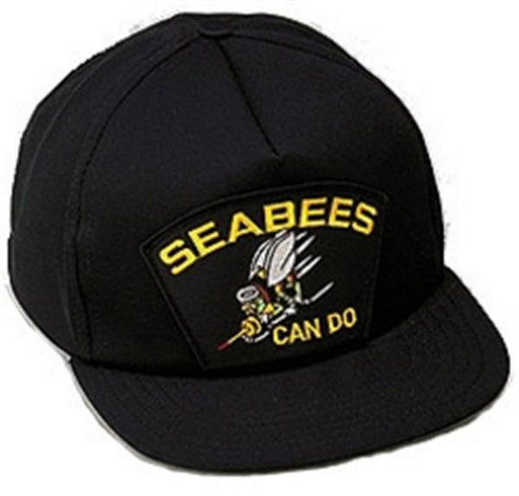 Seabees Can Do Ball Cap