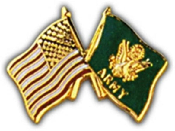 USA - Army Flags Small Hat Pin