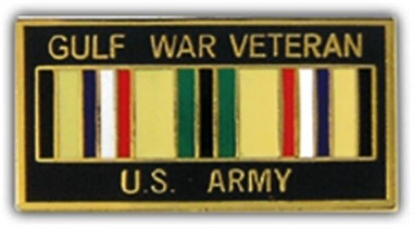 Gulf War Veteran USA Small Hat Pin