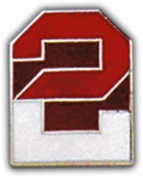 2nd Army Small Hat Pin