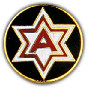 6th Army Small Hat Pin