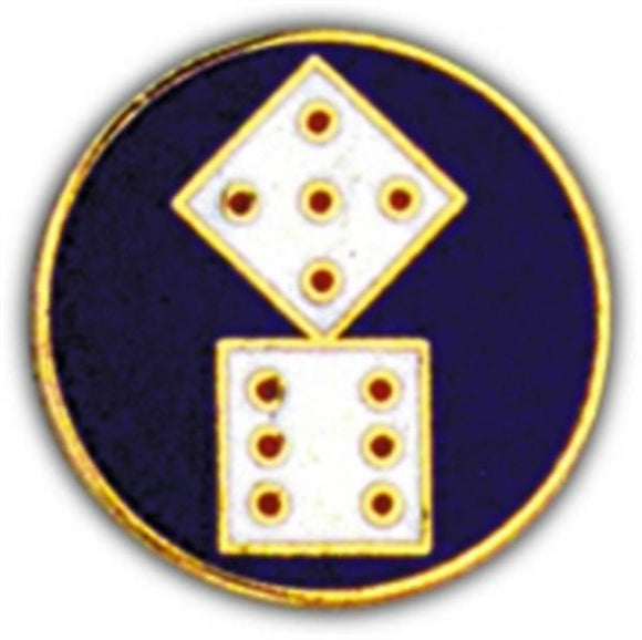11th Corps Small Hat Pin