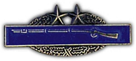 Combat Infantry Badge 3rd Award Small Hat Pin