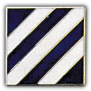 3rd Division Small Hat Pin