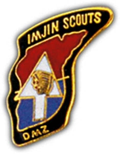 Imjin Scouts Small Hat Pin