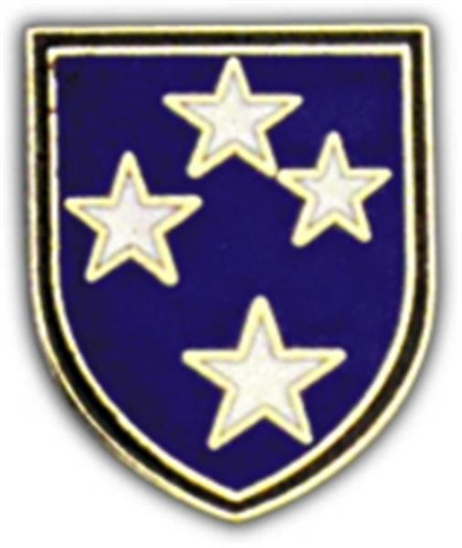 23rd Division Small Hat Pin