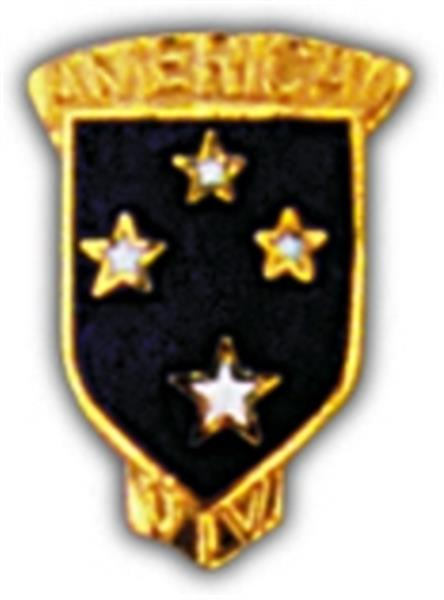 Americal 23rd Division Small Hat Pin