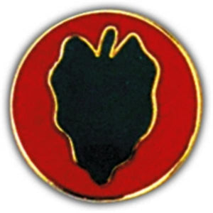 24th Infantry Division Small Hat Pin