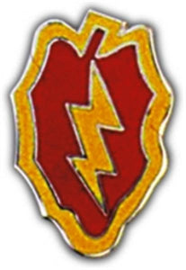 25th Division Small Hat Pin