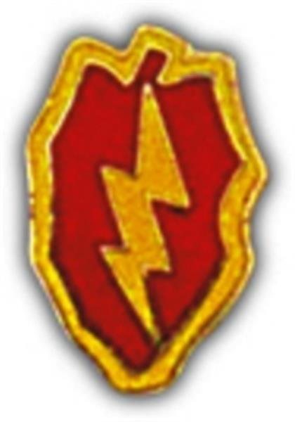 25th Infantry Division Small Hat Pin