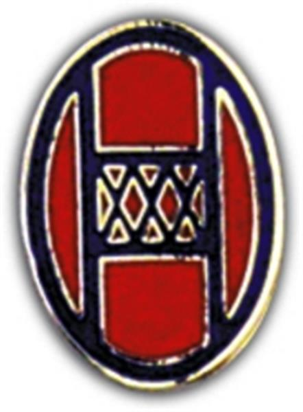 30th Division Small Hat Pin
