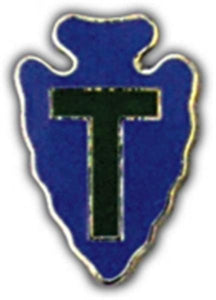 36th Division Small Hat Pin