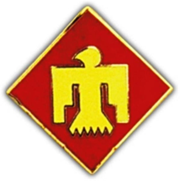 45th Division Small Hat Pin