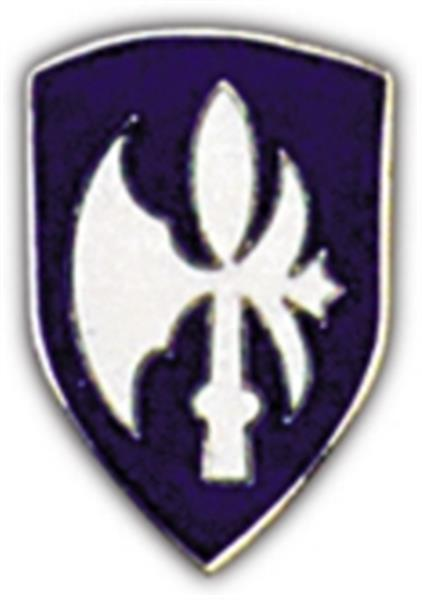 65th Division Small Hat Pin
