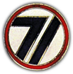 71st Division Small Hat Pin