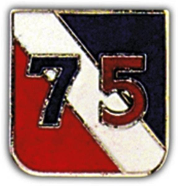 75th Division Small Hat Pin