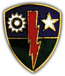 75th Infantry Brigade Small Hat Pin