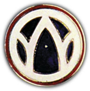 89th Division Small Hat Pin