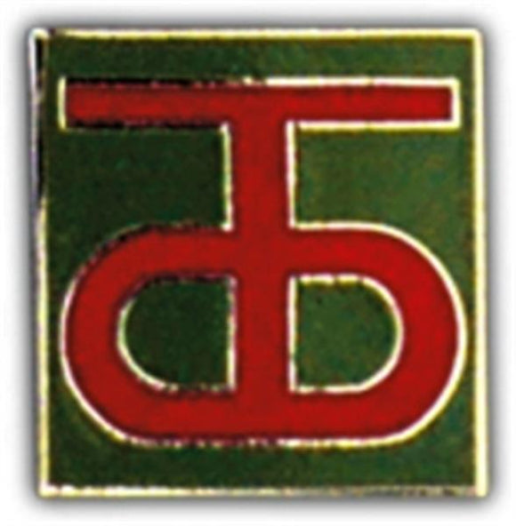 90th Division Small Hat Pin