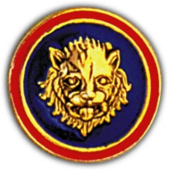 106th Division Small Hat Pin