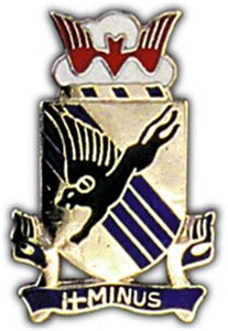 505th Light Infantry Small Hat Pin